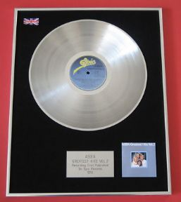ABBA - Greatest Hits Vol. 2 PLATINUM LP presentation disc
